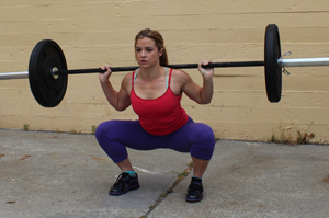 CrossFit Golden Gate San Francisco Back Squat